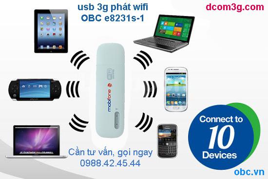 usb 3g phát wifi OBC E8231s-1
