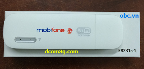 USB 3G Mobifone Fast Connect E8231s-1 phát wifi obc