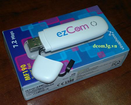 dcom usb 3g ezcom vinaphone mf190 gia re