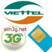 Sim 3g Viettel Dcom 144Gb khuyến mãi lớn