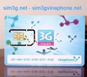 Sim 3g vinaphone 72Gb thỏa mãn mọi nhu cầu