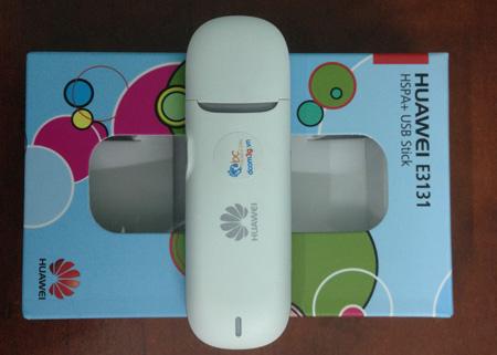 USB 3G Huawei E3131 HSPA+ 21.6Mbps dùng đa mạng giá rẻ