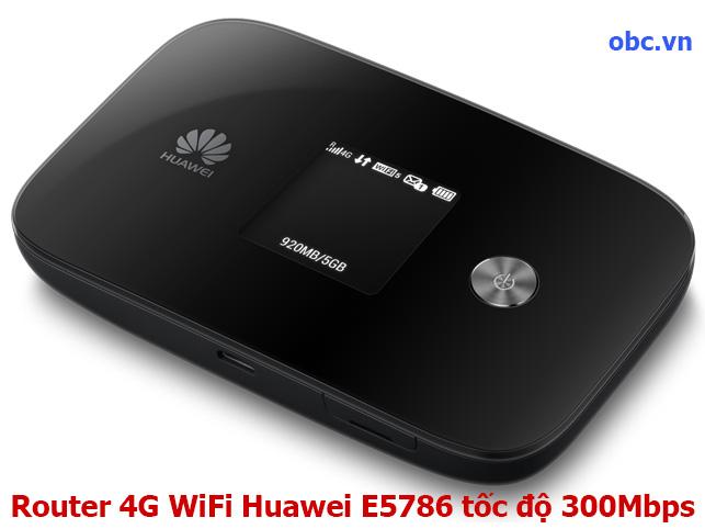 Router 4G WiFi Huawei E5786 tốc độ 300Mbps